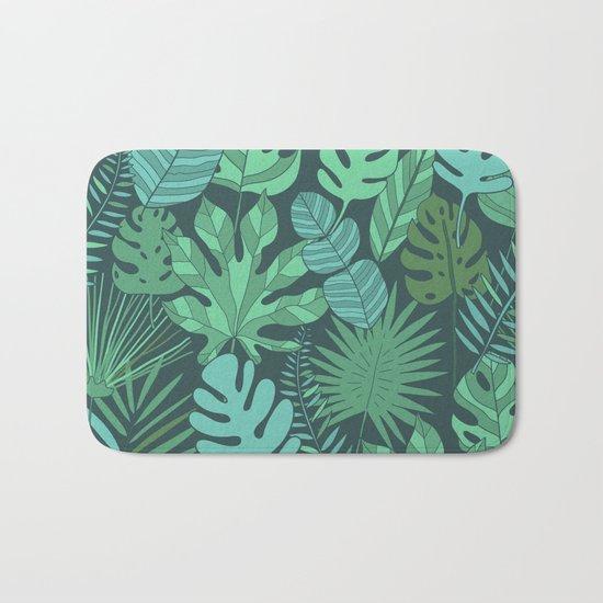 Tropical plantation Bath Mat