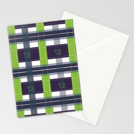 Seattle Plaid Stationery Cards