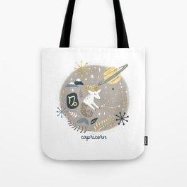 Capricorn Earth Tote Bag