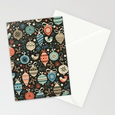 Festive Folk Charms Stationery Cards