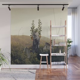 Forest Angel Wall Mural
