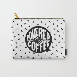 powered  by coffee two Carry-All Pouch