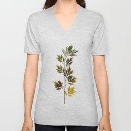 herbarium, natural Unisex V-Neck