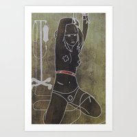 intravenous  Art Print