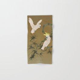 Wild Cockatoos Hand & Bath Towel