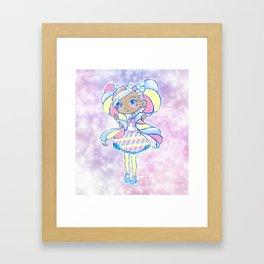 Cute Kawaii Marsha Mello Shopkins Shoppies Doll Art Framed Art Print