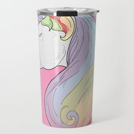 Unicorn Rainbow Travel Mug