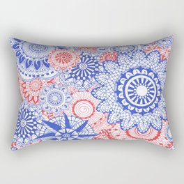 Celebration Mandala Rectangular Pillow