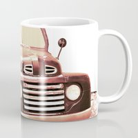 truck Mugs featuring Old Truck by Regan's World