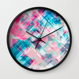 Splinter Wall Clock