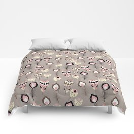 Tribal feather pattern 032 Comforters