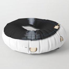 Record Deck Floor Pillow