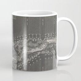 1887 Morningside Park Map Coffee Mug