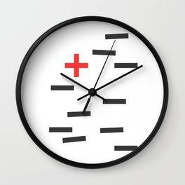 Opposite II Wall Clock