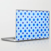 polka dots Laptop & iPad Skins featuring Polka Dots by Texture