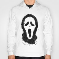 scream Hoodies featuring Scream by Bill Pyle