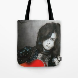 'Jimmy Page' Tote Bag