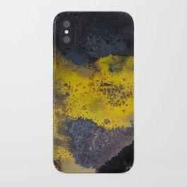 Abstract  metallic iPhone Case