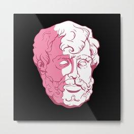 Seneca Bust Philosophy Teacher Design Metal Print