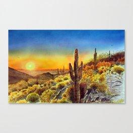 Arizona's Sunset Canvas Print
