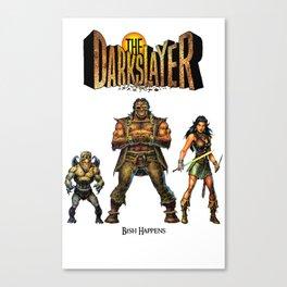 The Darkslayer - The Bad Guys: Eep, Farc & Jarla Canvas Print