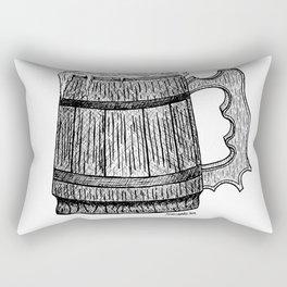 beer mug Rectangular Pillow