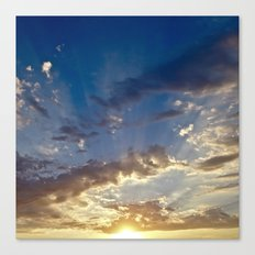 Sunset Over Compton Canvas Print