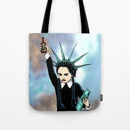 Wednesday Liberty Tote Bag