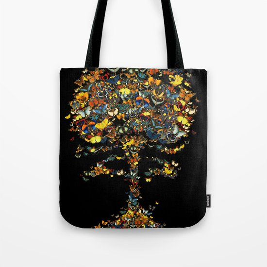 Atomic Butterfly Tote Bag