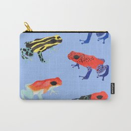[Poison Dart Frog - Blue] Carry-All Pouch
