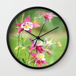 Colombine Wall Clock