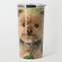 Kiss me I'm Irish | Yorkie Giraffe | Yorkies | Dogs | nbKiss Travel Mug