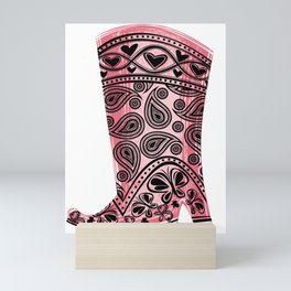 KREVIS Boot Mini Art Print