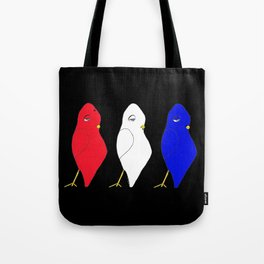 Red, Dovey & Jay Tote Bag
