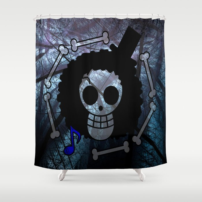 Flag Brook One Piece Shower Curtain