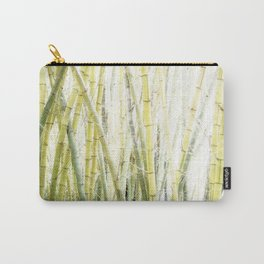 Bamboo Tapestry Carry-All Pouch