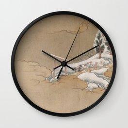 Japenese Pattern Wall Clock