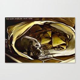 House Hippo Canvas Print