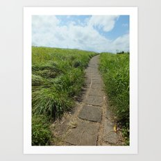 The Path Before Me Art Print