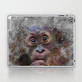Artistic Animal Orang Baby Laptop & iPad Skin