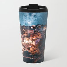 manarola at night Metal Travel Mug