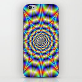 Psychedelic Wheel iPhone Skin
