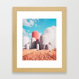 Deserted Framed Art Print