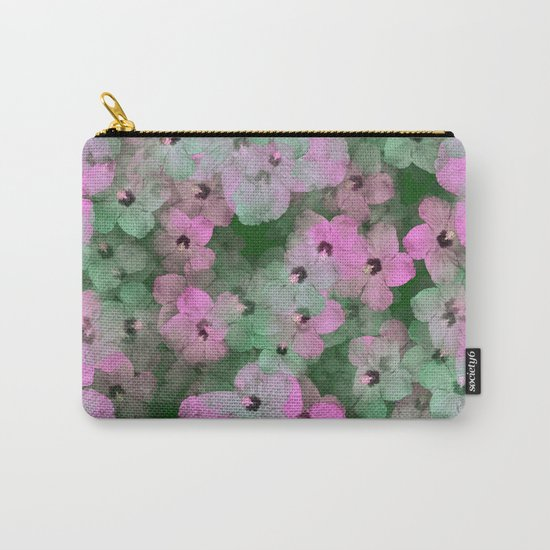 Floral Passion Carry-All Pouch
