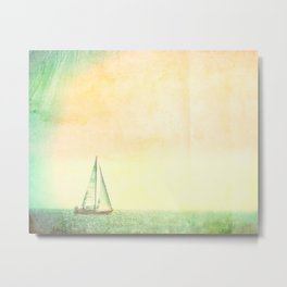 Smell the Sea and Feel the Sky Metal Print