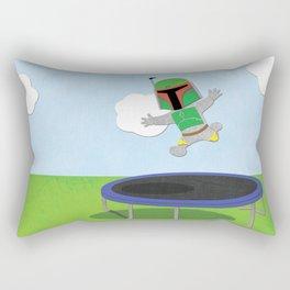 SW Kids - Boba Fett Jump Rectangular Pillow