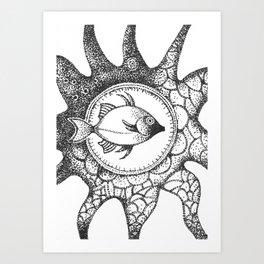 fish4 Art Print