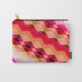3D geometric patterns Carry-All Pouch