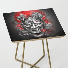 Hannya dragon mask Side Table