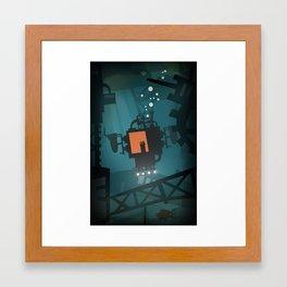 Stay Away  Framed Art Print